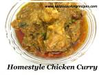Home StyleChicken Curry