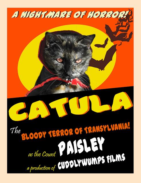 Caturday Art: Catula poster