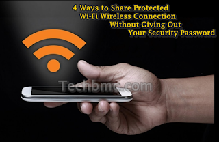 Share Protected Wi-Fi Wireless Connection Without Security Password