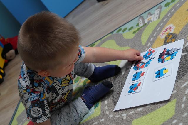 Pierwsza nauka kolorów, kształtów, liczenia i różnic - z ciuchcią Tomkiem
