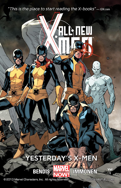 all new x-men yesterday's x-men