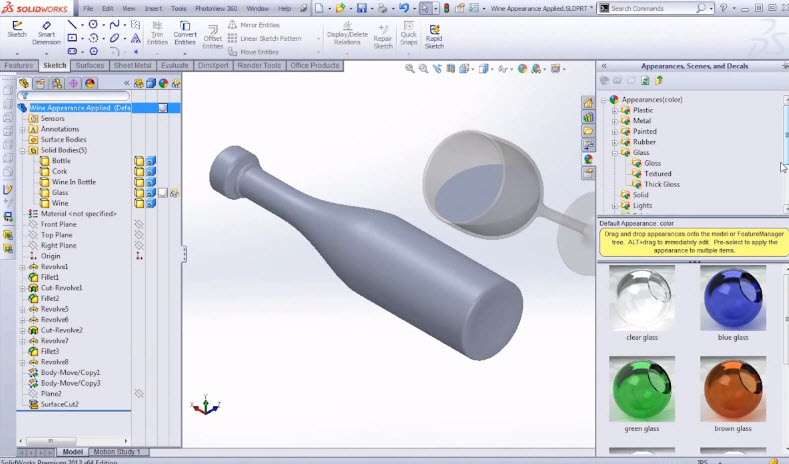 how to make arrowheads in solidworks