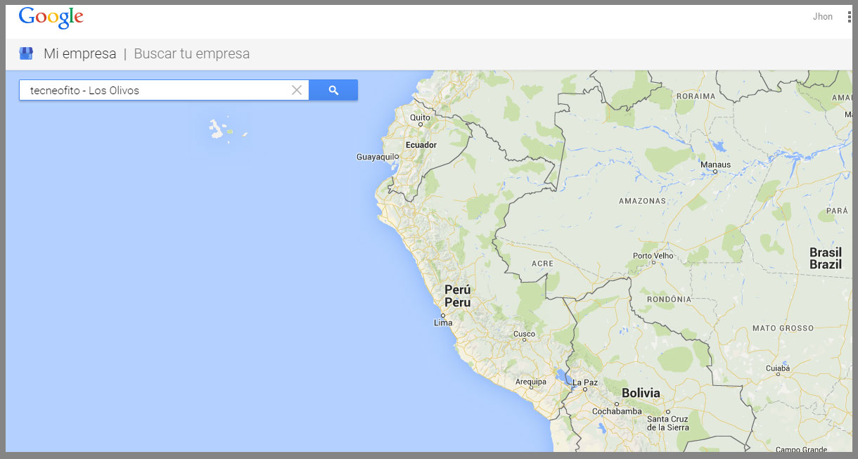 Google Maps tecneofito