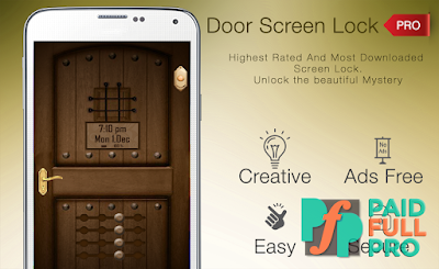 Door Lock Screen Pro latest android apk paid version