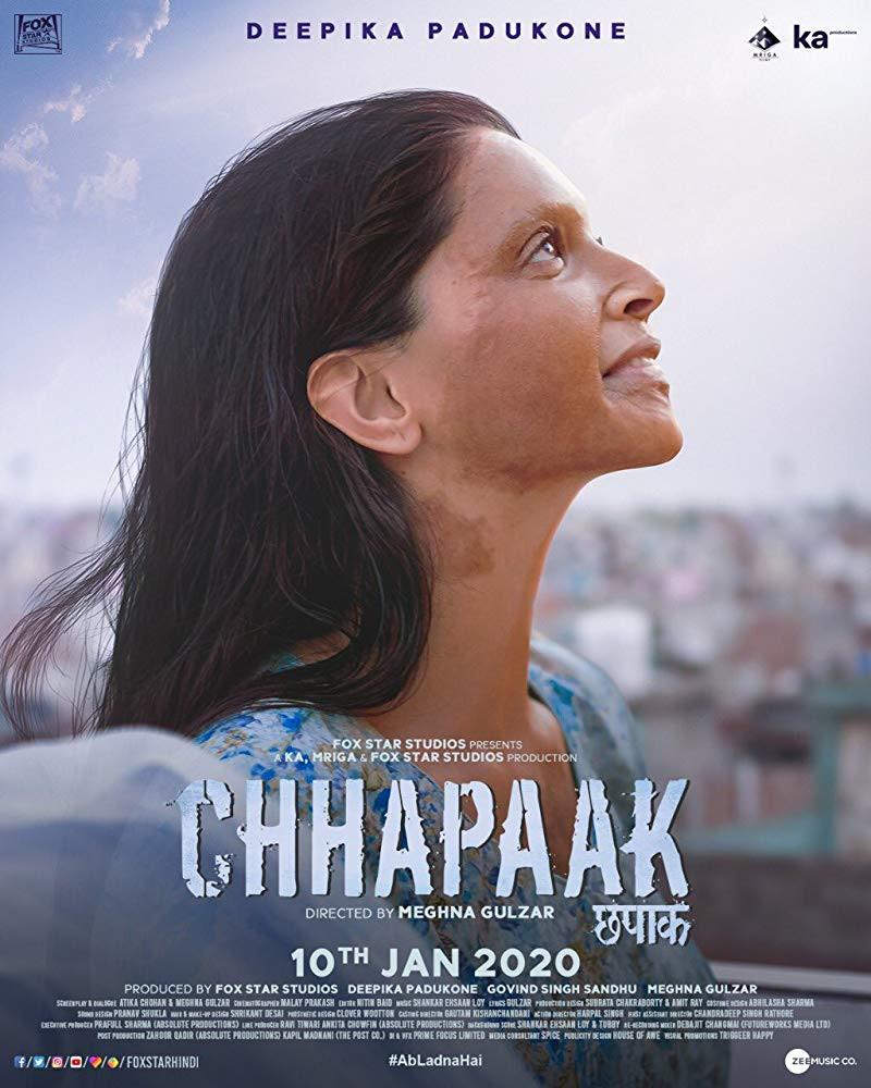 Chhapaak 2020 Hindi 1080p HDRip 1.4GB ESubs