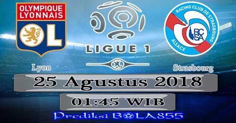 Prediksi Bola855 Lyon vs Strasbourg 25 Agustus 2018
