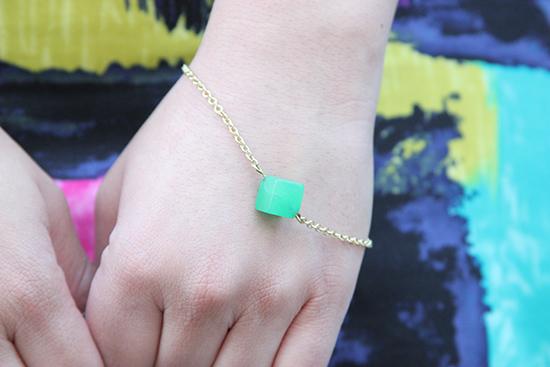 Minimilist Compliment Bracelet