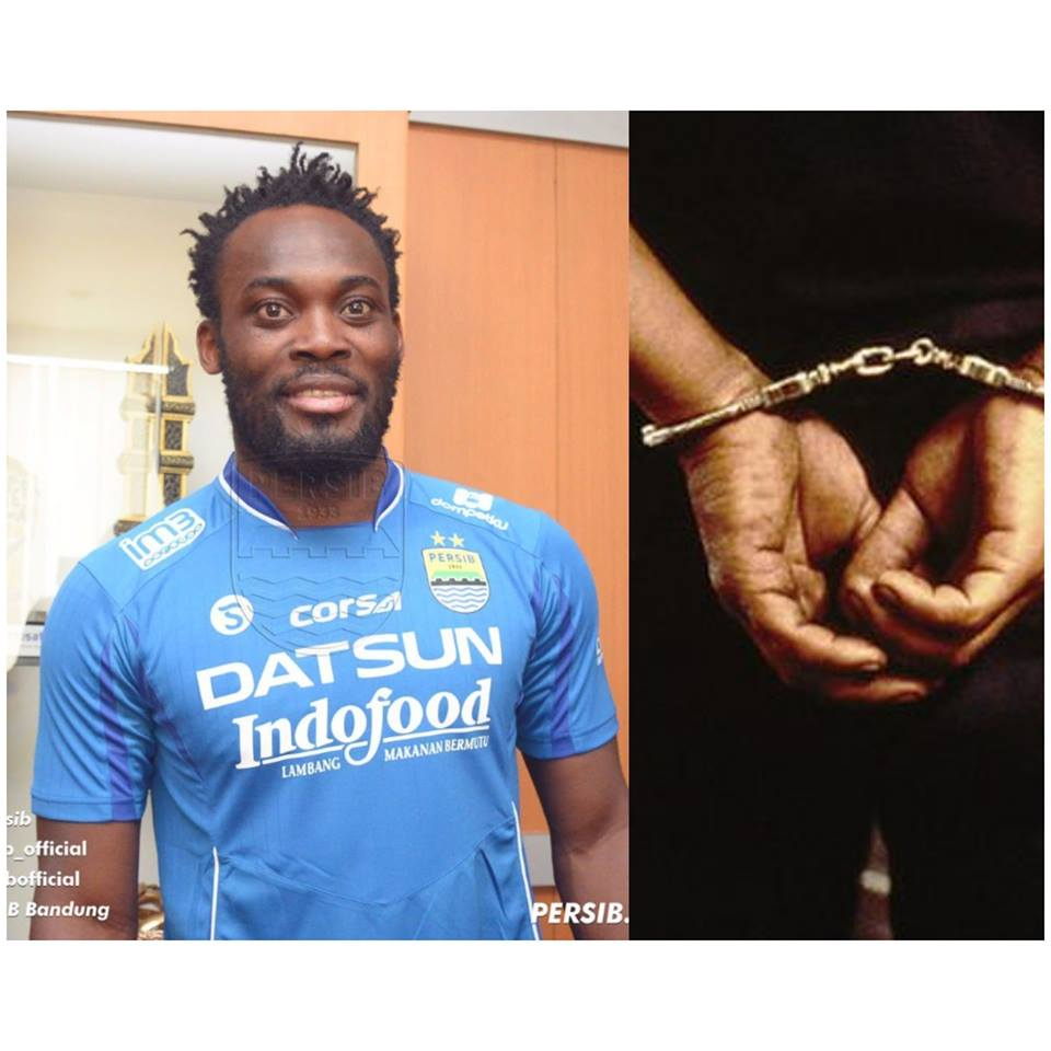 What Michael Essien To Be Jailed for 5 Years In Indonesia Find