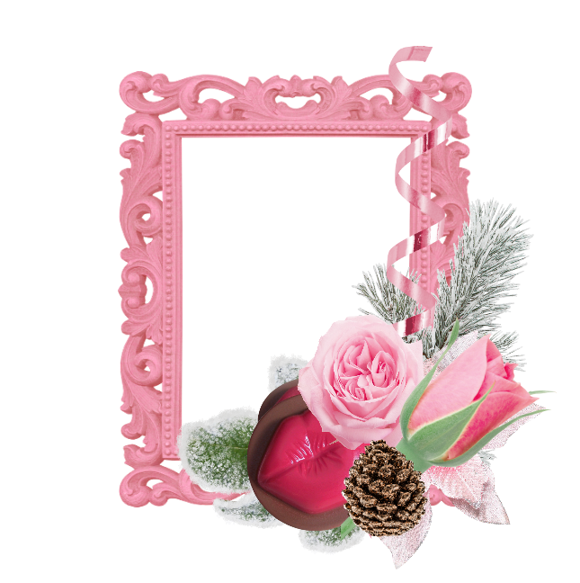 Graphic Groupies: Candy\'s Winter Cluster Frames