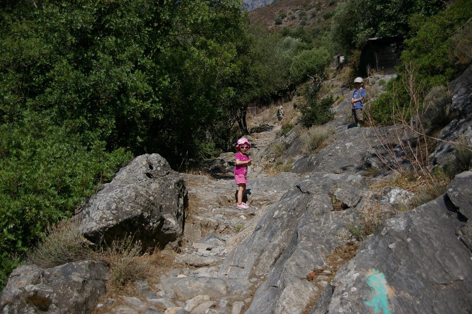 Korsyka z dziećmi
