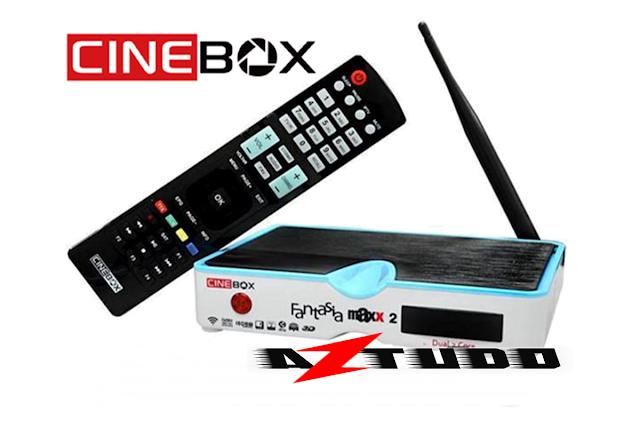 Resultado de imagem para CINEBOX FANTASIA MAXX2    AZTUDO