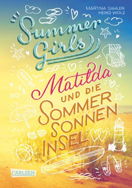 """Das Bücherboot auf Küstenkidsunterwegs hat diesmal ganz viele Kinderbücher, Jugendbücher und sogar ein paar Bücher für Erwachsene an Bord, die sich allesamt um das Thema """"Ferien und Urlaub am Meer"""" drehen! Eine wunderschöne Insel-Sommer-Geschichte und ein tolles Jugendbuch ist """"Matilda und die Sommersonneninsel"""", Summer Girls Band 1."""