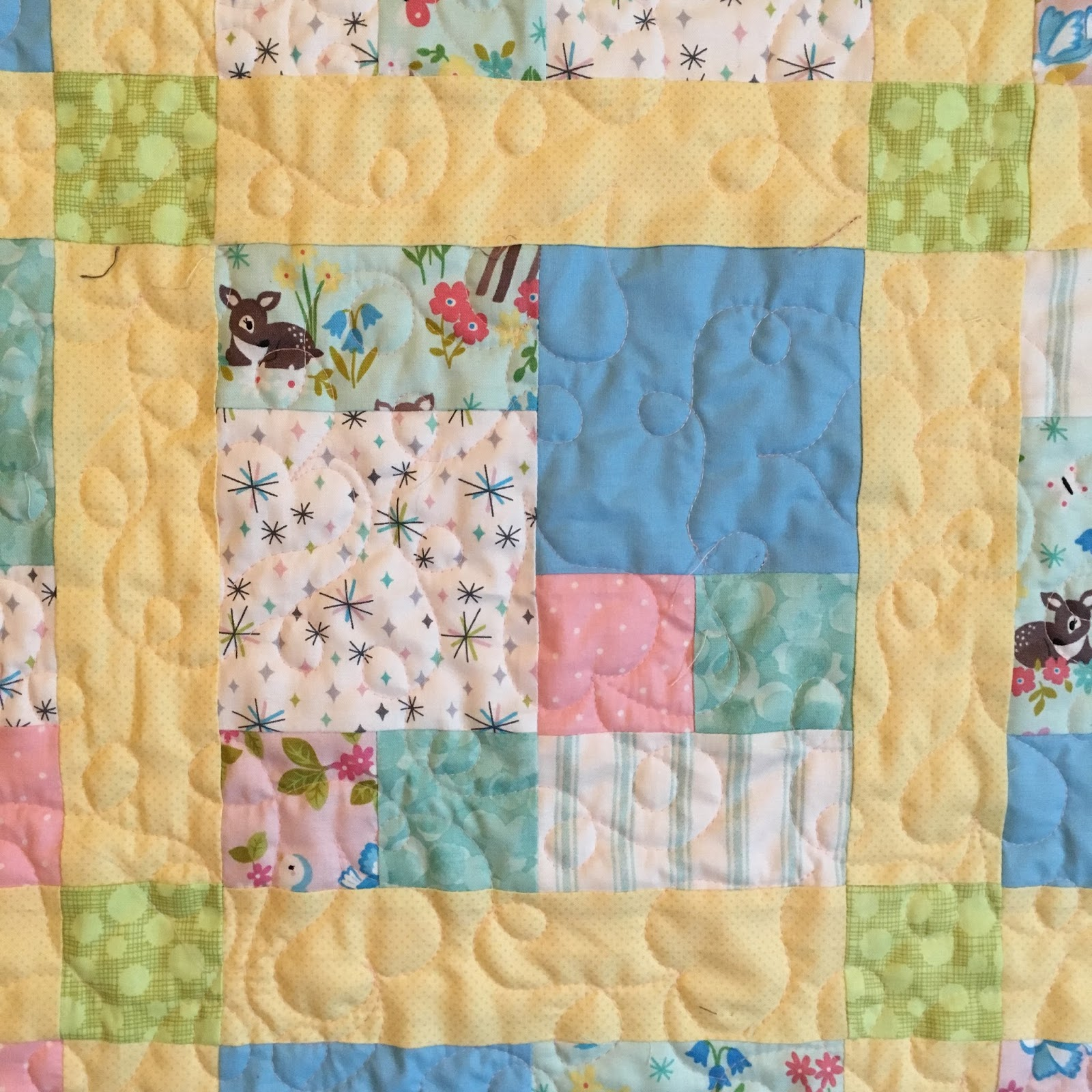 Pamelaquilts Cityscapes Baby Quilt