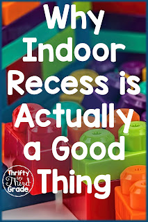 Indoor Recess can be a great time for students and teachers. Learn some ideas and activities so students can still burn off energy, and build social skills.