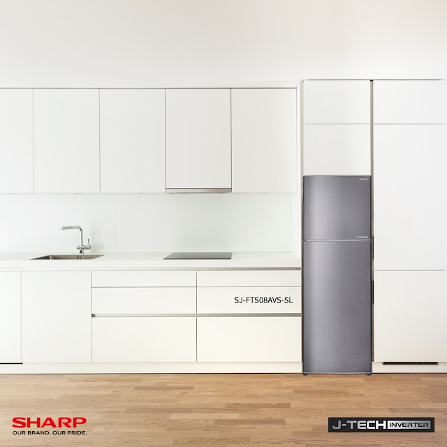 The Sharp J-Tech Inverter 2-Door Refrigerator: Keep Cool and Fresh this Christmas