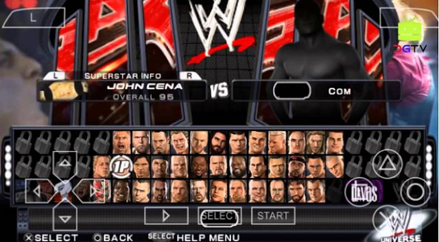 Karakter WWE Smackdown Vs Raw 2K14