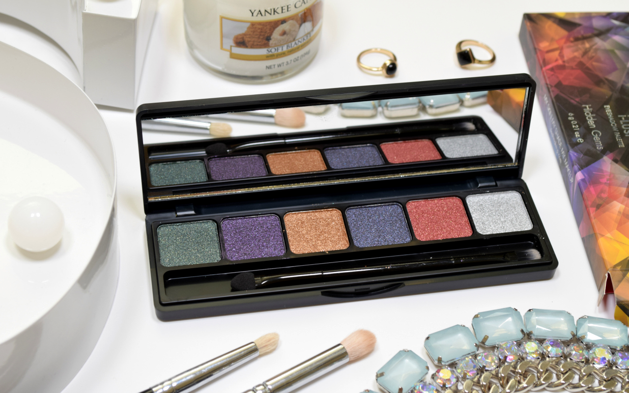 Sleek MakeUP Rockstars Collection Review i-Lust Eyeshadow Palette Hidden Gems
