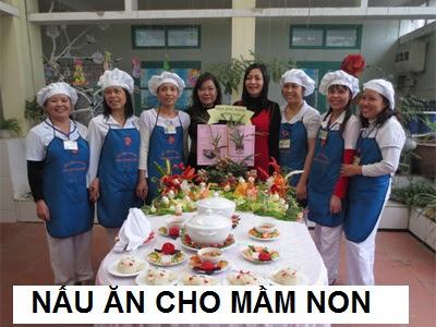 Trung cấp nấu ăn cho Trường mầm non