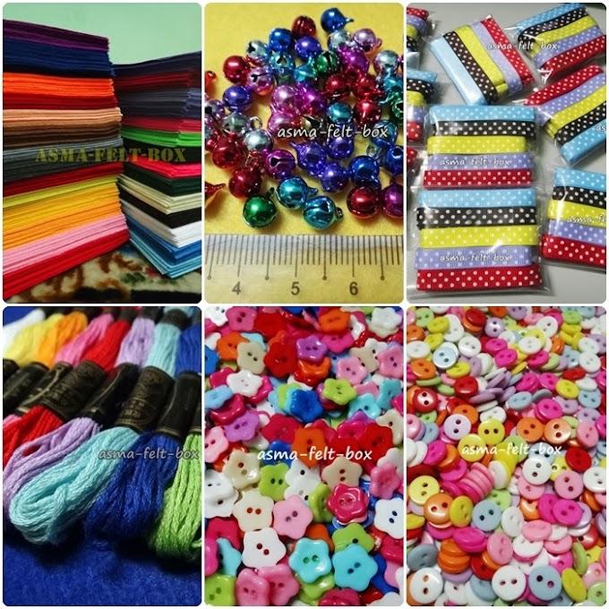 Felt Craft Supply di Kuantan