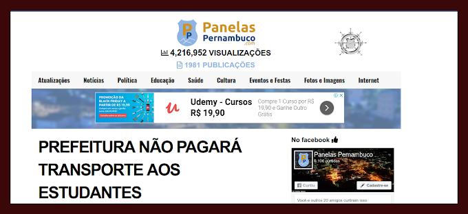 NOVO ARTIGO DE PIERRE LOGAN - A DENÚNCIA DE QUE A PREFEITURA NÃO PAGARÁ MAIS TRANSPORTE AOS UNIVERSITÁRIOS