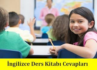 8. Sınıf İngilizce Dikey Yayınları Ders Kitabı Cevapları