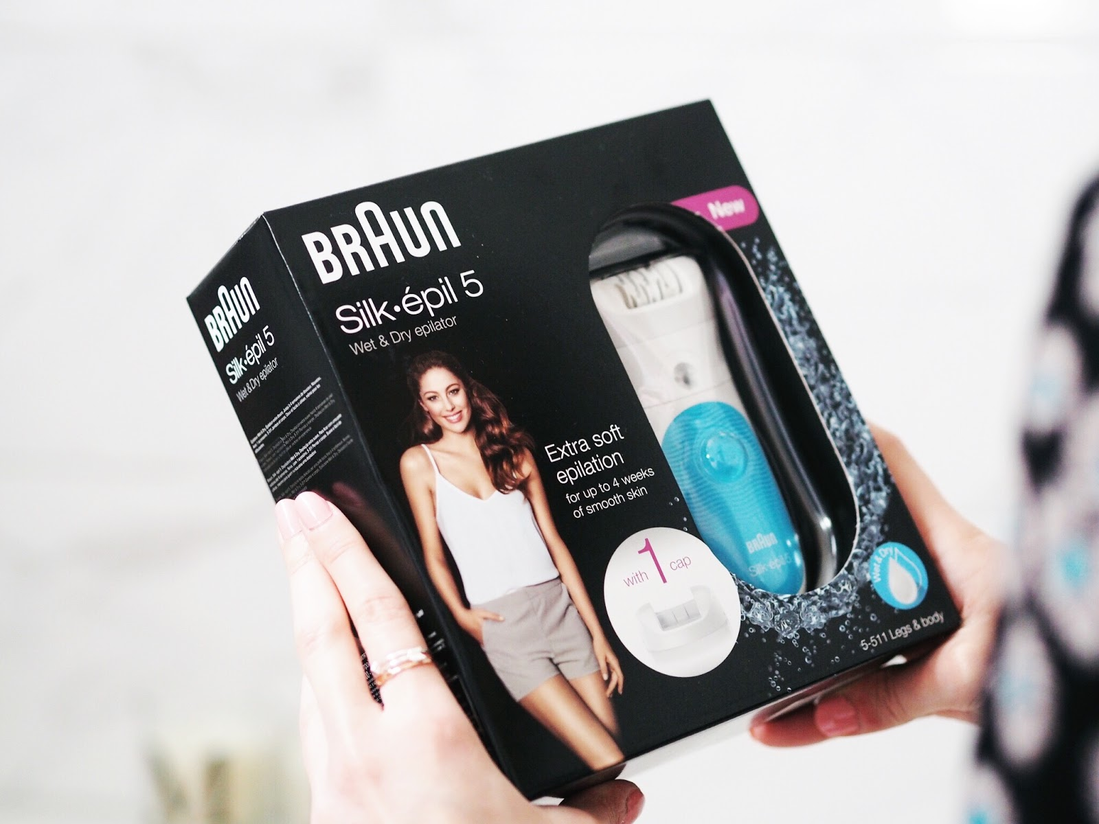 Braun Silk-Épil 5 review gifting ideas hair removal methods summer
