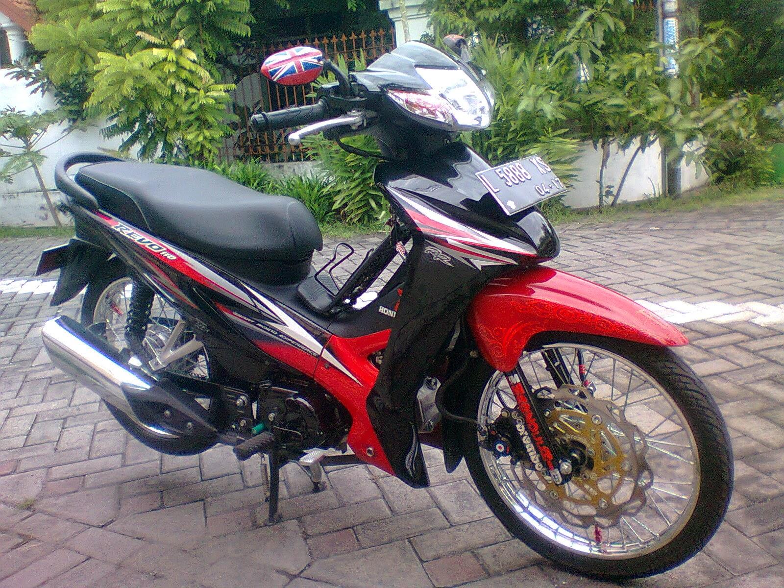 Foto Modifikasi Motor Honda Revo Terkeren Dan Terbaru