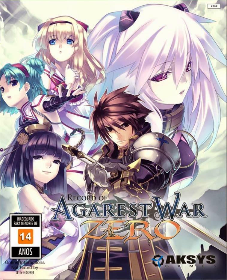 Cover Caratula Agarest Generations Of War Zero Full PC