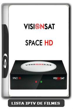 Visionsat Space HD Nova Atualização 61W, 63W, 107W, IKS e VOD V1.60 - 07-01-2020