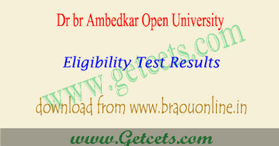 BRAOU Eligibility test results 2021 manabadi @braouonline.in