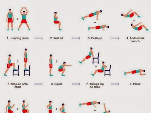 Quick At Home Workout