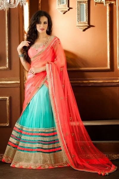 Indian Fancy Amp Embroidered Lehenga Choli For Wedding