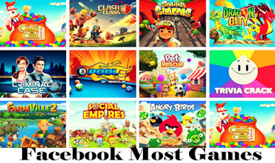 List Of Facebook Most Games To Play – Facebook Gameroom | Facebook Games