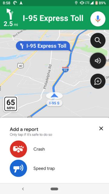 Google Haritalar Hala Bildirimi