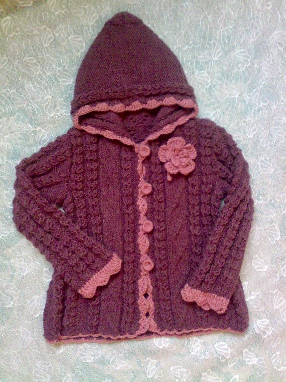 вязаное детское пальто людмиларучной работы мастерская голубка