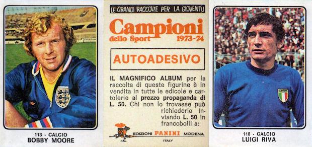 STEMMA-Rec CAMPIONI dello SPORT 1973//74-Figurina n.88 AUTOMOBILE CLUB ITALIA