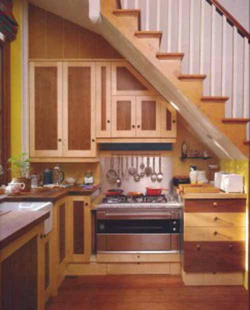 Kitchen Under Stairs