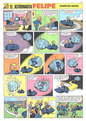 El Cosmonauta Felipe, Mortadelo Especial nº 5
