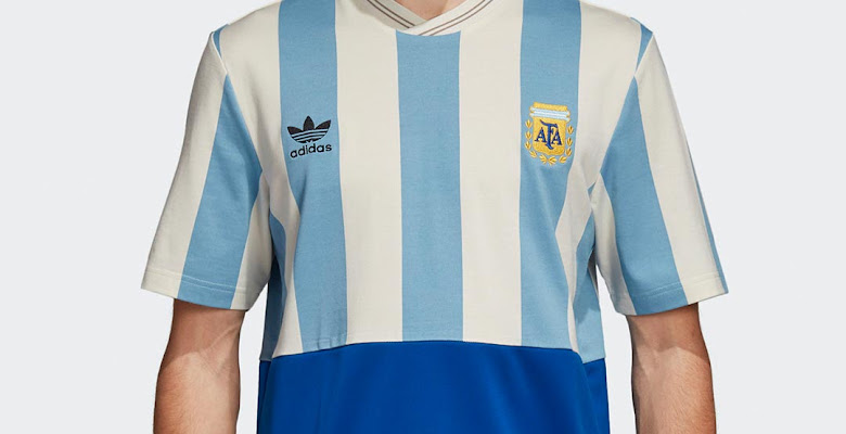 1fbae678 Unique Adidas Argentina 2018 World Cup Mash-Up Jersey Leaked