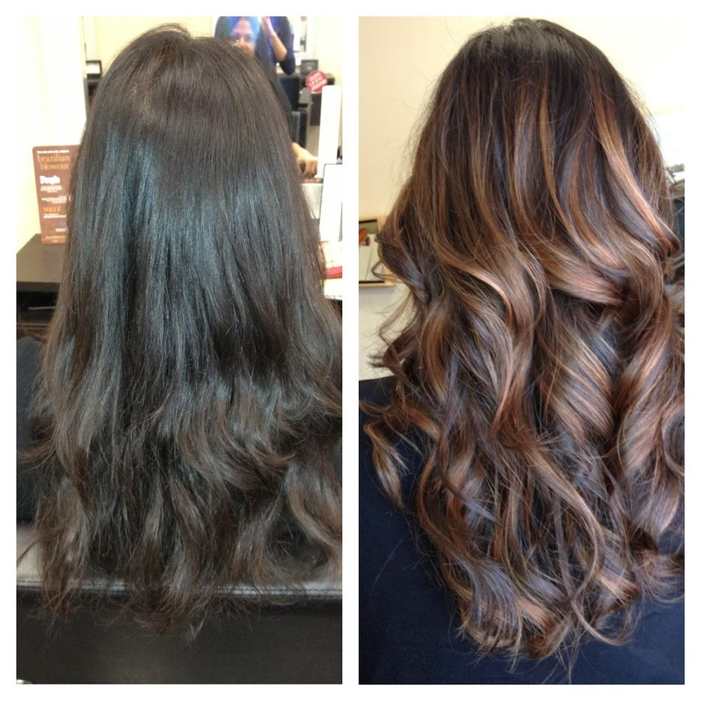 Brown Hair Color With Auburn Highlights Natural Hair Dye 2018