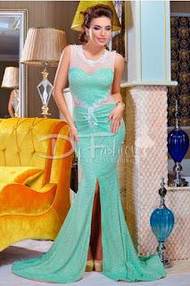 Rochie Luxurious Turqoise