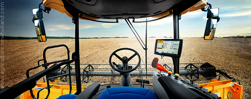 New Holland CR9090 operator cab