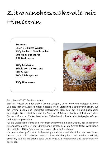 Geburtstagsimpressionen Teil 3 mit Blümchen zum Wochenende und leckerem Biskuitrollenrezept, Pomponetti