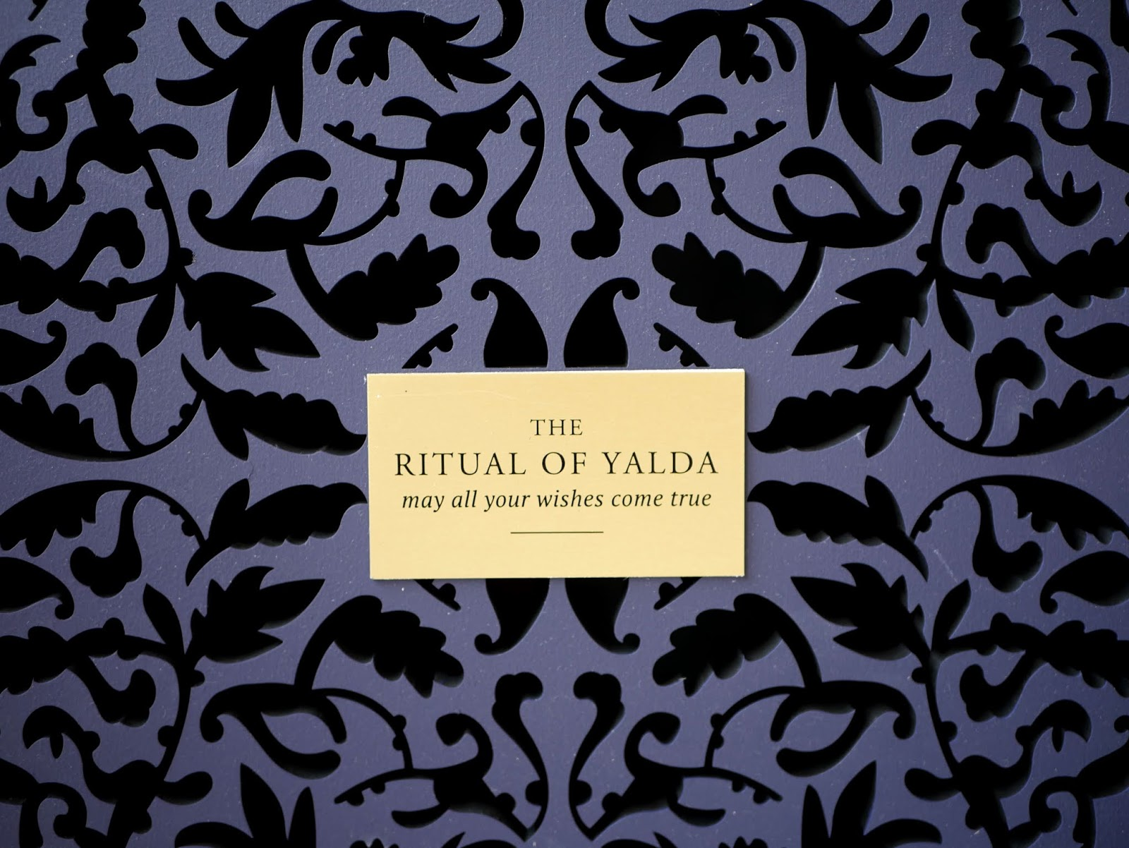 Rituals - The Ritual of Yalda