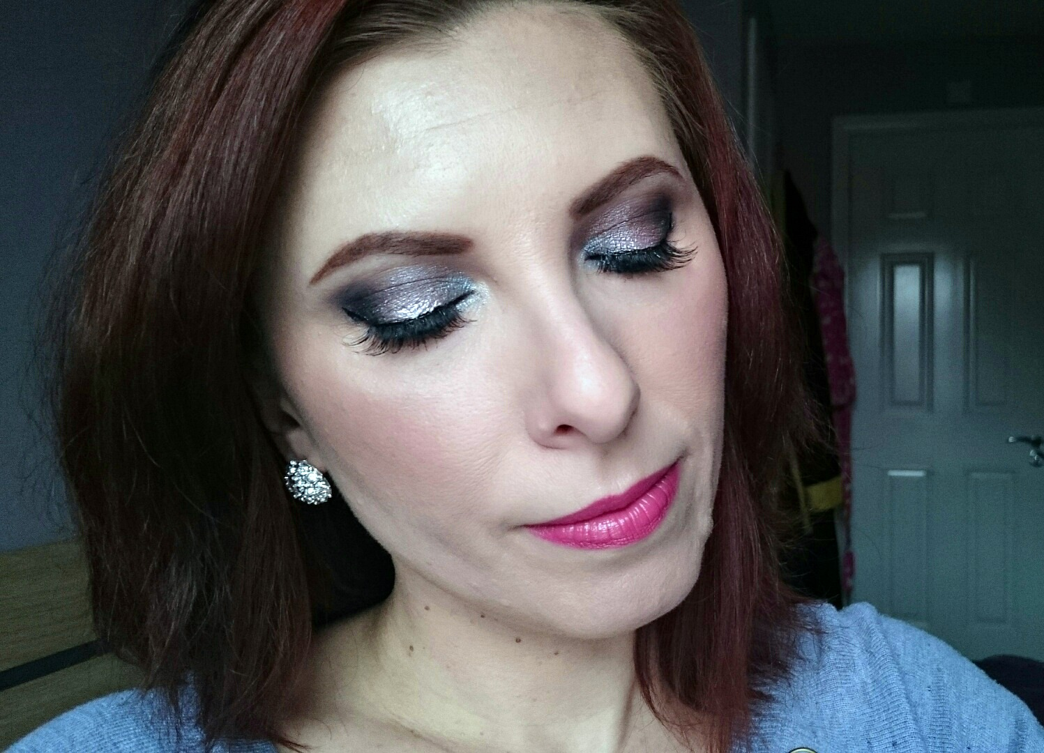 makeup look using makeup revolution palette