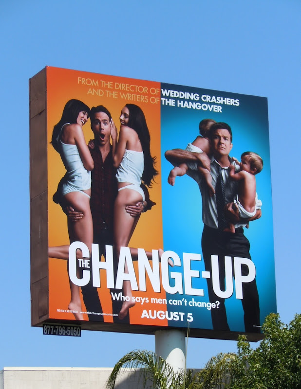 Change Up movie billboard