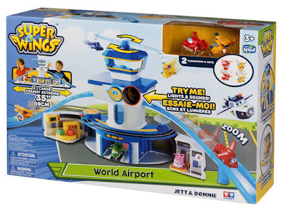 TOYS : JUGUETES - SUPER WINGS Aeropuerto Internacional | World Airport 2016 | Serie Clan TV | A partir de 3 años Comprar en Amazon España