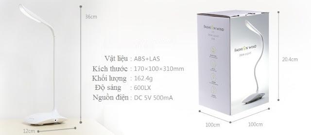Đèn bàn cảm ứng chống cận Rinos RN3000