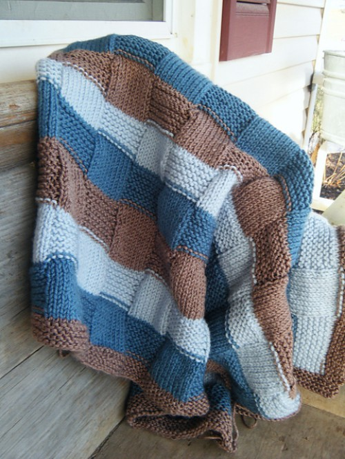 Stripe the Squares Baby! - Free Pattern