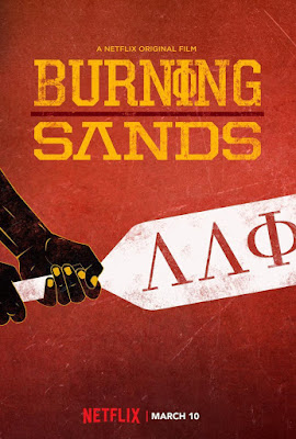 Burning Sands 2017 DVD Custom NTSC Latino